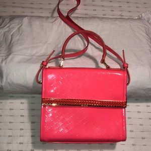 Ted Baker,Pink handbag,EUC, Detachable straps